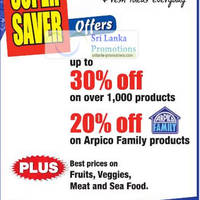 Read more about Arpico Supercentre Up To 30% Off Promotion 18 May - 17 Jun 2012