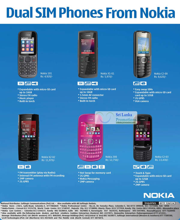 Mobile phone prices in sri lanka 2017