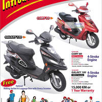 Singer Camy 80 Amp Galaxy 100 Scooter Offers 29 May 2012