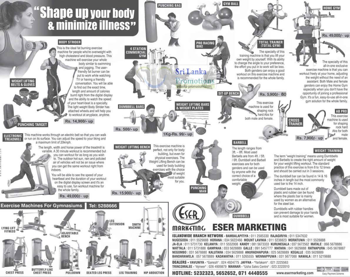 1 Jul English Version Eser Marketing Gym Exercise Equipment