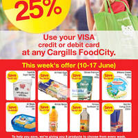 Read more about Cargills Food City 25% Off Selected Products 10 - 17 Jun 2012