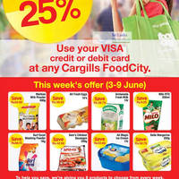 Read more about Cargills Food City 25% Off Selected Products 3 - 9 Jun 2012