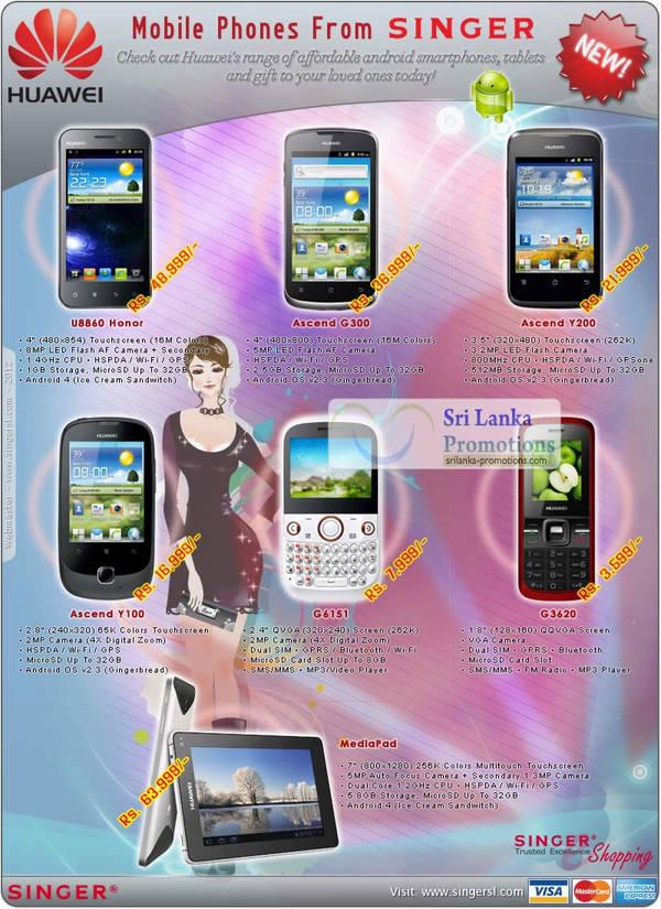 Huawei Singer 10 Jun 2012