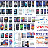 Read more about Mitsu Mobile Phone Price List Offers 17 Jun 2012