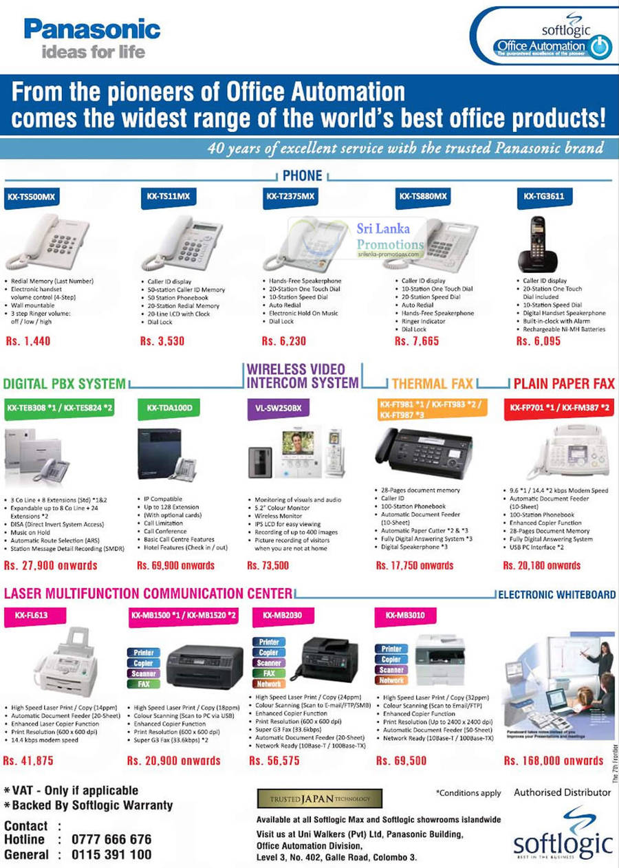 Coupons for fax machines