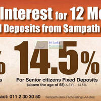Read more about Sampath Bank Fixed Deposit Interest Rates 1 Jun 2012