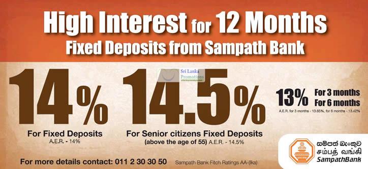 Sampath Bank 1 Jun 2012 » Sampath Bank Fixed Deposit ...