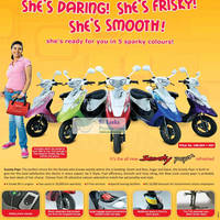 Read more about TVS Scooty Pep+ Scooters Promotion Offer 6 Jul 2012
