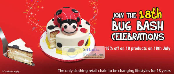 Featured image for Fashion Bug 18% Off 18 Products Promotion 18 Jul 2012