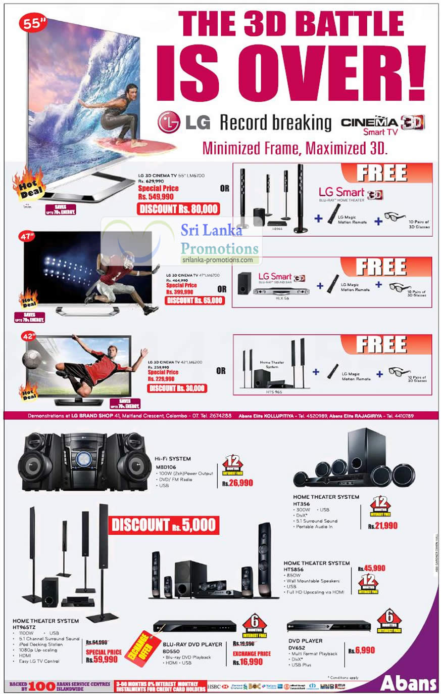 List Of Lg Home Theater System Ht965tz Related Sales