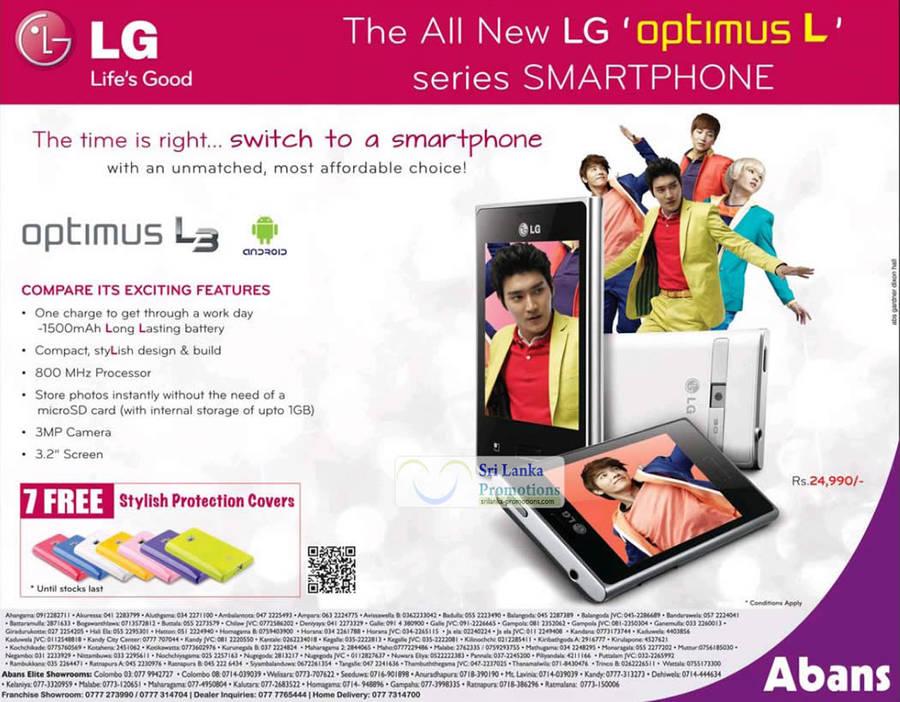 LG Optimus L3 8 Jul 2012