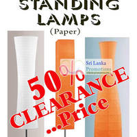 Read more about Moolchands Lighting 50% Off Eglo Paper Floor Standing Lamps 12 Jul 2012
