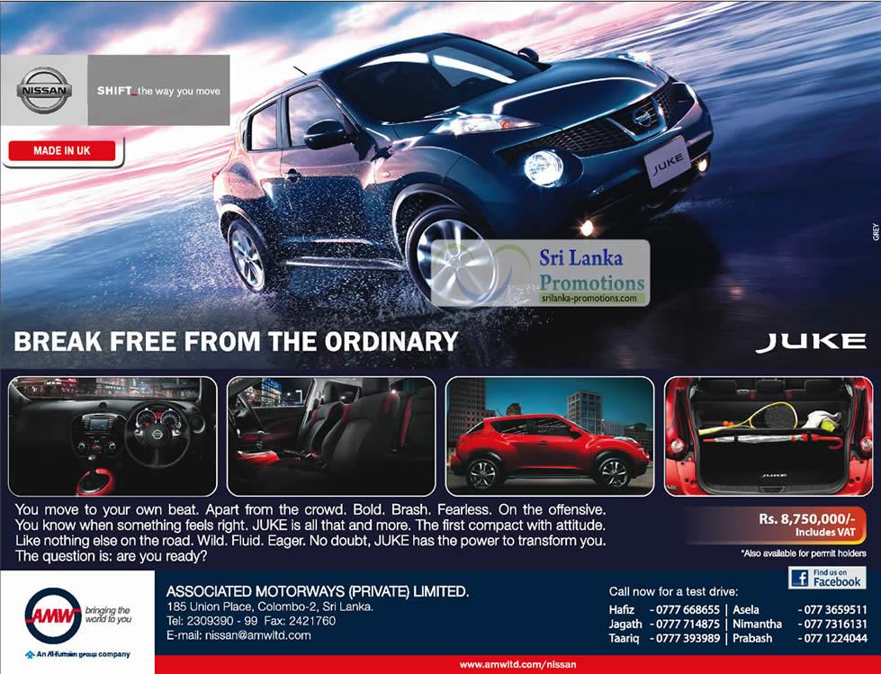 Nissan Juke Price In Sri Lanka Sep 2020 Sri Lanka Promotions