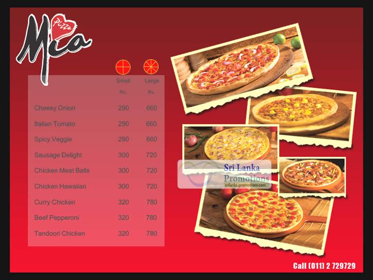 chicken pizza price