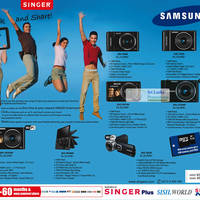Read more about Samsung Digital Cameras & Video Camcorders Singer Offers 19 Jul 2012