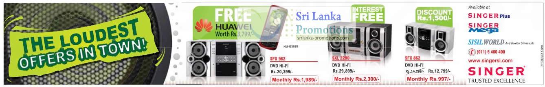 Singer SFX962 HiFi System, Singer SXL2200 HiFi System, Singer 862 HiFi System