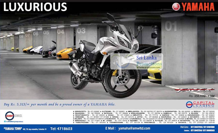 Yamaha Motorbike 2012 Yamaha Fazer 8 Jul 2012 »
