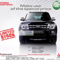 Read more about Mitsubishi Montero Special Price Offer 7 Aug 2012