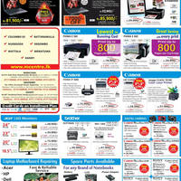 Read more about Metropolitan Printers, Digital Cameras, Notebooks & Desktop PC Offers Price List 19 Aug 2012