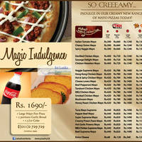 Check out Pizza Hut's new Mayo Magic Selection pizzas that are so creeamy! Try them out today by simply calling their Delivery hot line or at any of their outlets