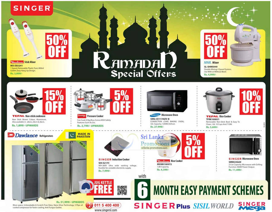 Singer Kitchenware Electronics Amp Appliances Ramadan