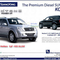 Read more about SSangyong Rexton II SUV Features & Price 12 Aug 2012