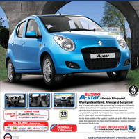 Read more about Suzuki A-STAR Features & AMW Price 5 Aug 2012