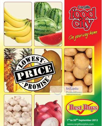 Cargills Food City Price List