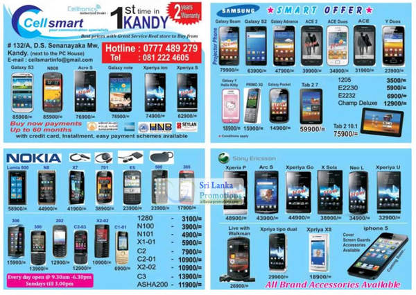 Featured image for Cellsmart (Celltronics) Smartphones & Tablets Offers 23 Sep 2012