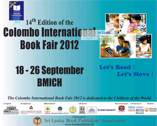 Colombo international book fair tagged posts aug 2018 sri lanka colombo international book fair cibf bmich 18 26 sep 2012 gumiabroncs Images