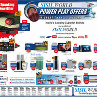 Read more about Sisil World LED TVs, Fridge & Washer Offers 27 Sep 2012