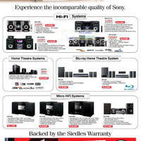 Read more about Sony HiFi Systems, Home Theatre Systems & Micro Hifi System Siedles Offers 16 Sep 2012