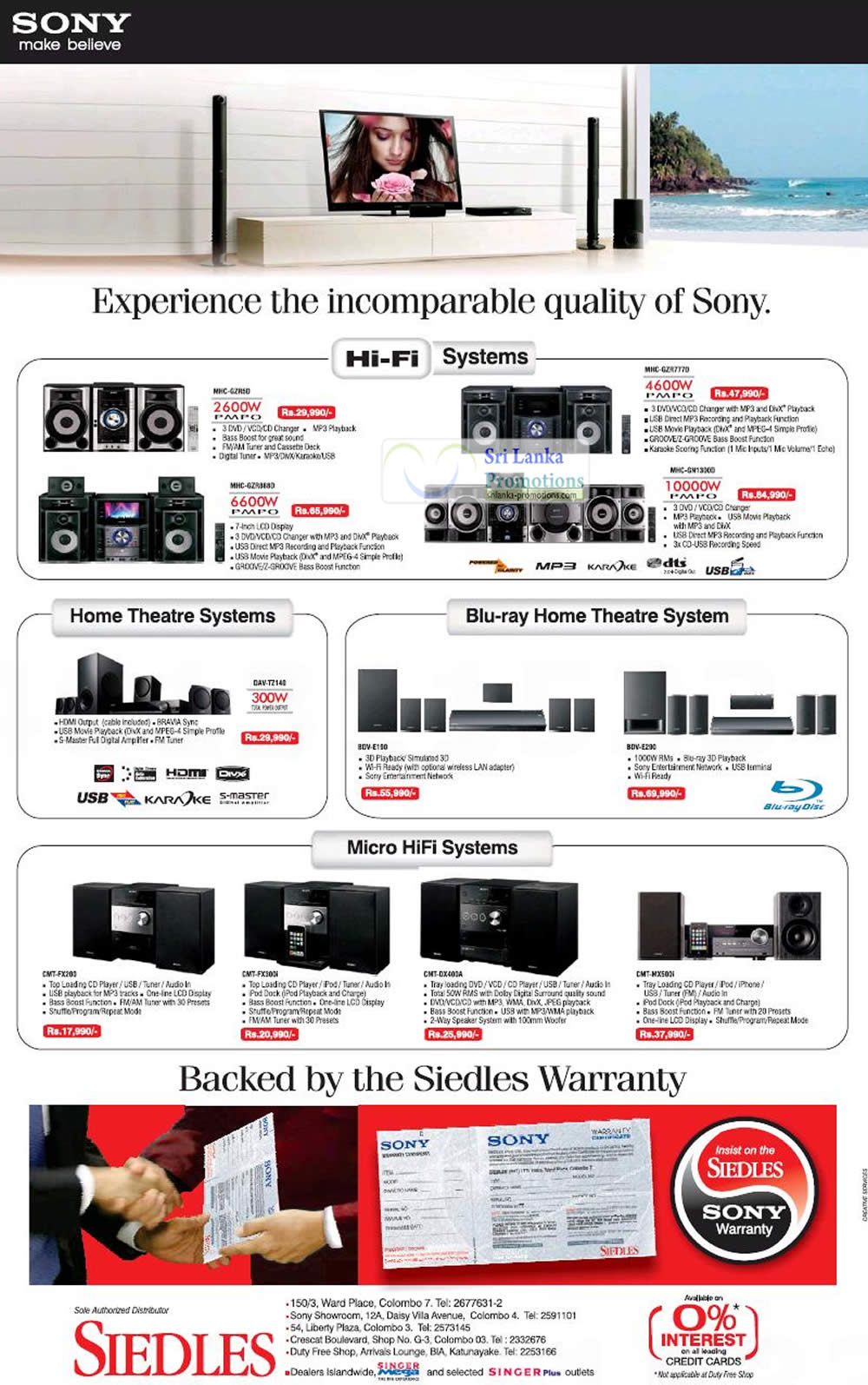 Sony 16 Sep 2012