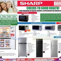 Read more about Abans Sharp Microwave Ovens & Fridge Features & Offers 20 Oct 2012