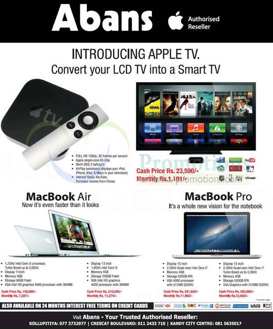 Apple tv price list