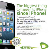 Read more about Apple iPhone 5 Sri Lanka Price @ Etisalat 14 Oct 2012