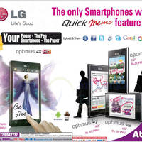 Read more about LG Optimus Smartphones Abans Offers 14 Oct 2012