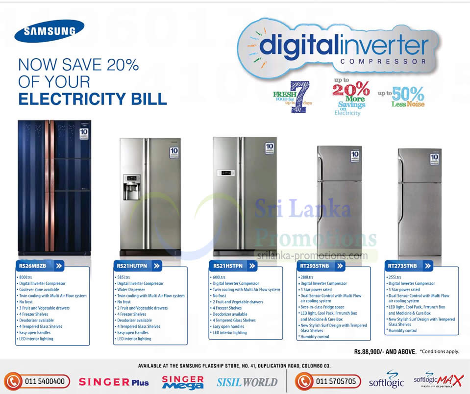 Home Designs October 2012: Samsung Fridge Offers 7 Oct 2012