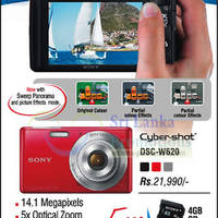 Read more about Sony Cybershot Digital Camera DSC-W620 Features & Price 17 Oct 2012