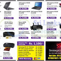 Read more about Strategix IT Solutions Printers, Notebooks & Desktop PC System Offers 21 Oct 2012