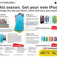 Read more about Future World Apple iPod Offers 19 Nov 2012