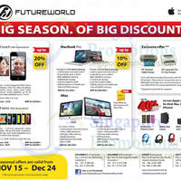 Read more about FutureWorld Apple Offers Seasonal Offers 16 Nov 2012