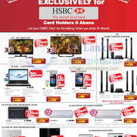Read more about Abans LG Electronics & Appliances Offers Promotion For HSBC Cardmembers 21 Nov 2012