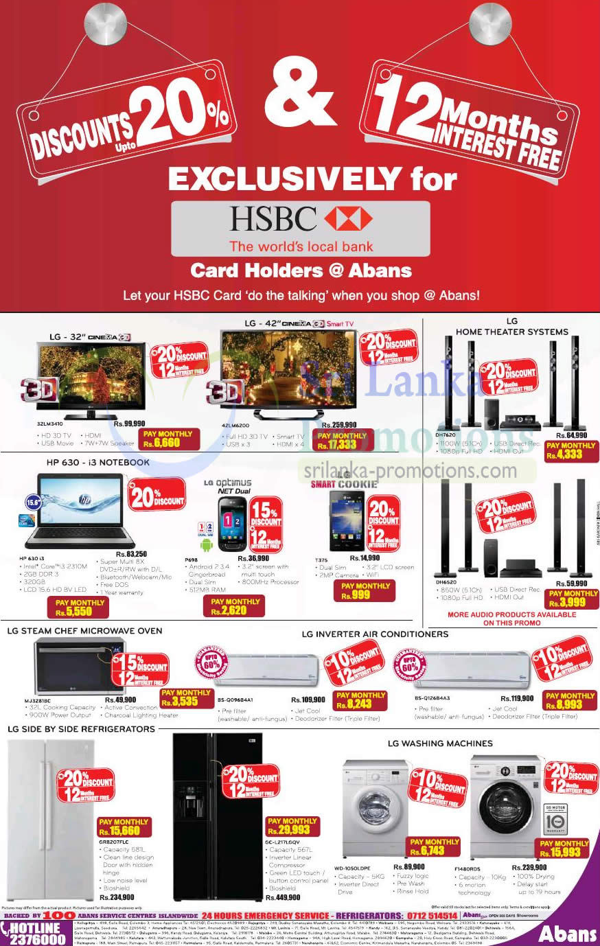 Abans Lg Electronics Amp Appliances Offers Promotion For