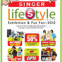 Read more about Singer Lifestyle Fiesta Exhibition & Fun Fair 2012 @ BMICH 16 - 18 Nov 2012