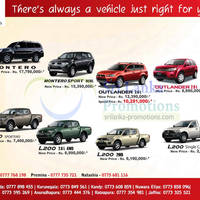 Read more about Mitsubishi Motor Vehicles Promotion @ United Motors Lanka 20 Nov 2012
