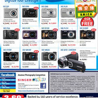 Read more about Samsung Digital Cameras Singer Offers 11 Nov 2012