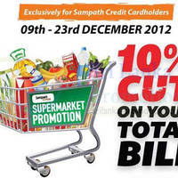 Read more about Cargills FoodCity 10% Off For Sampath Credit Cardmembers 9 - 23 Dec 2012