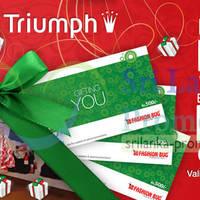 Read more about Fashion Bug Triumph Free Rs 500 Voucher Promotion 22 - 23 Dec 2012