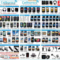 Read more about Celltronics Smartphones & Mobile Phones Price List Offers 6 Jan 2013